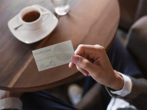 smart card for your drinks