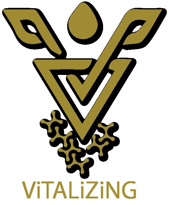 Vitalizing logo